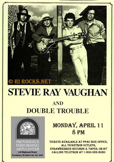 Stevie Ray Vaughan 1988 04 11